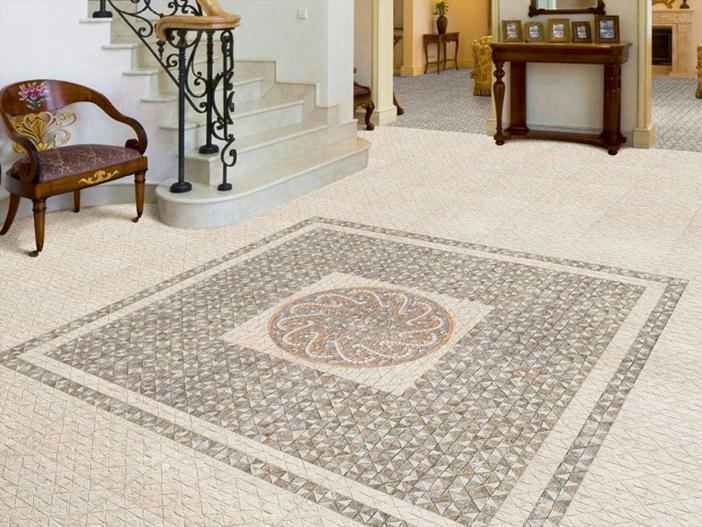 Pavimenti In Cotto Con Mosaico : Pietreesassi pavimenti in pietra naturale e mosaici